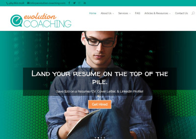 Evolution Coaching Website