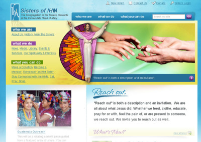 Sisters of IHM Website